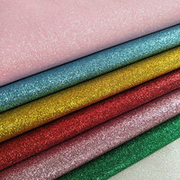 1 Meter Rainbow Faux Leather White Glitter Cloth Pink Black Silver Synthetic Leather PVC Textile Texture Similicuir Kunstleder