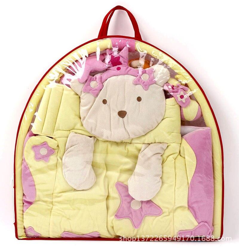 Ours kaki Bette princesse princesse musique chenille couverture tapis jeu Pad ramper Pad Puzzle jouets tapis gym tapis cadeau étoile kt chat - 3