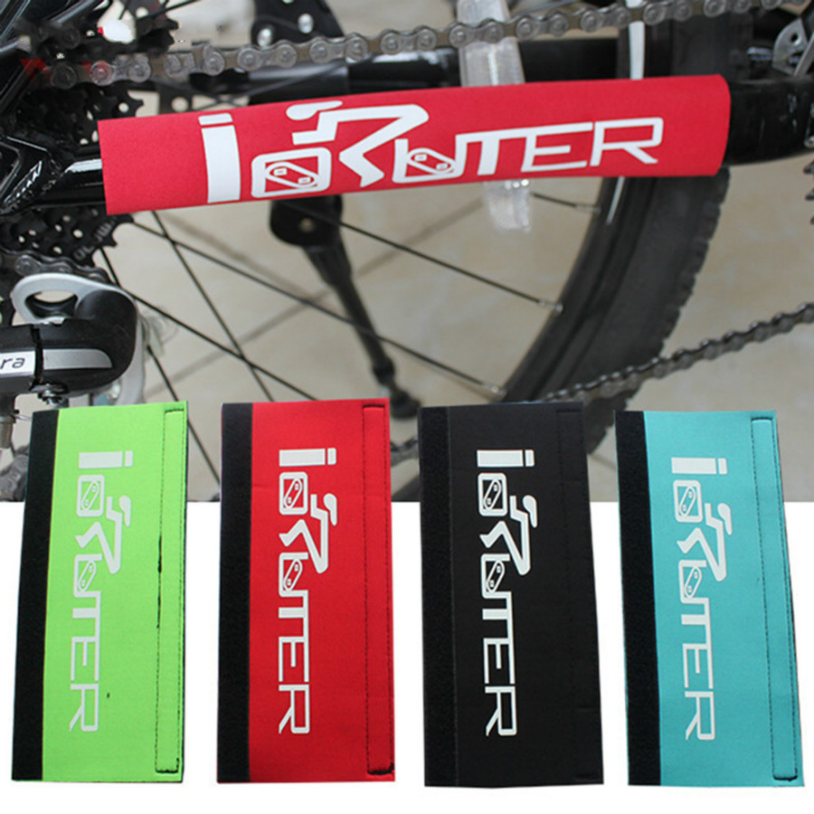 2017 new Bike Chain Protector Cycling Frame Chain Stay Posted Protector MTB Bicycle Chain Care Guard Paste Cover 4 Color