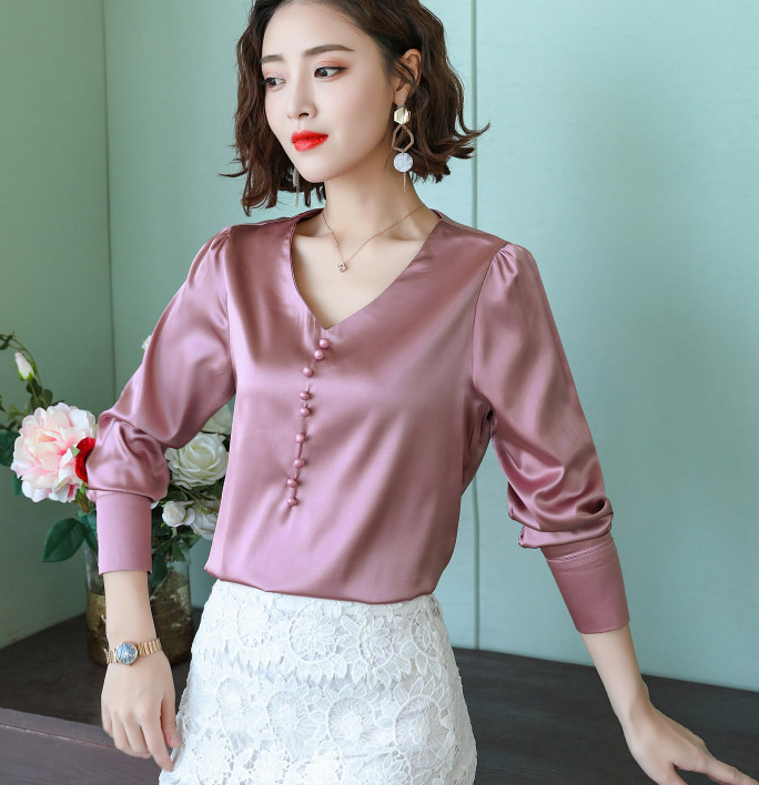 BIBOYAMALL Fashion 2018 Plus Size Women's   Blouses   Long Sleeves Womens Tops and   Blouses     Shirts   For Women Causal Clothes Blusa Top