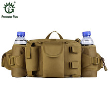 Men's Military Waist Packs Waterproof Male Hip Belt Bum Fanny Pack Man Bicycle Equipment Waist Bag Men Nylon Pouch Hike 2017 S84