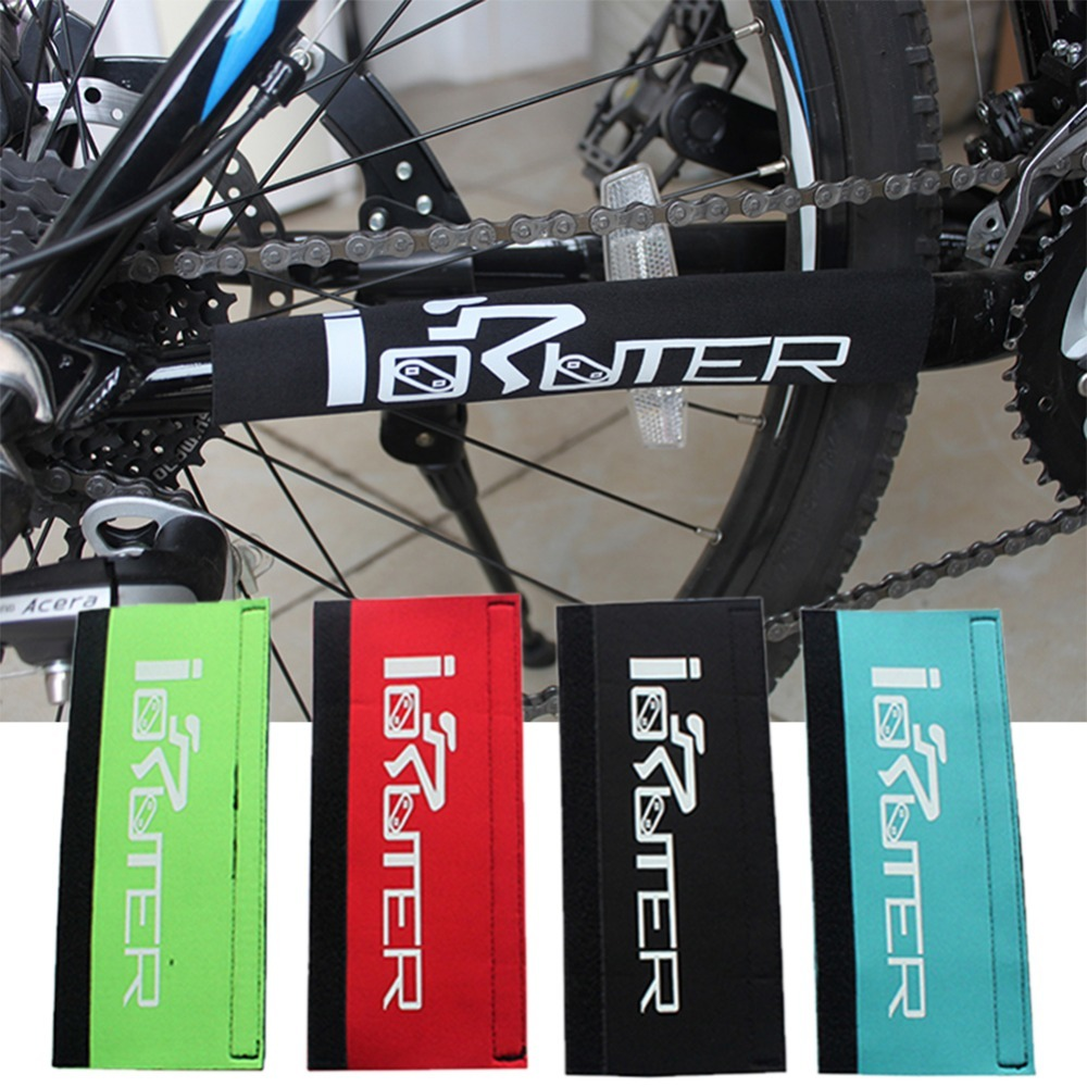 4 Colors Mountain Bicycle Chain Protector Outdoor Cycling Chainstay Bike Chain Stay Rear Fork Guard Cover Care Protector Pad
