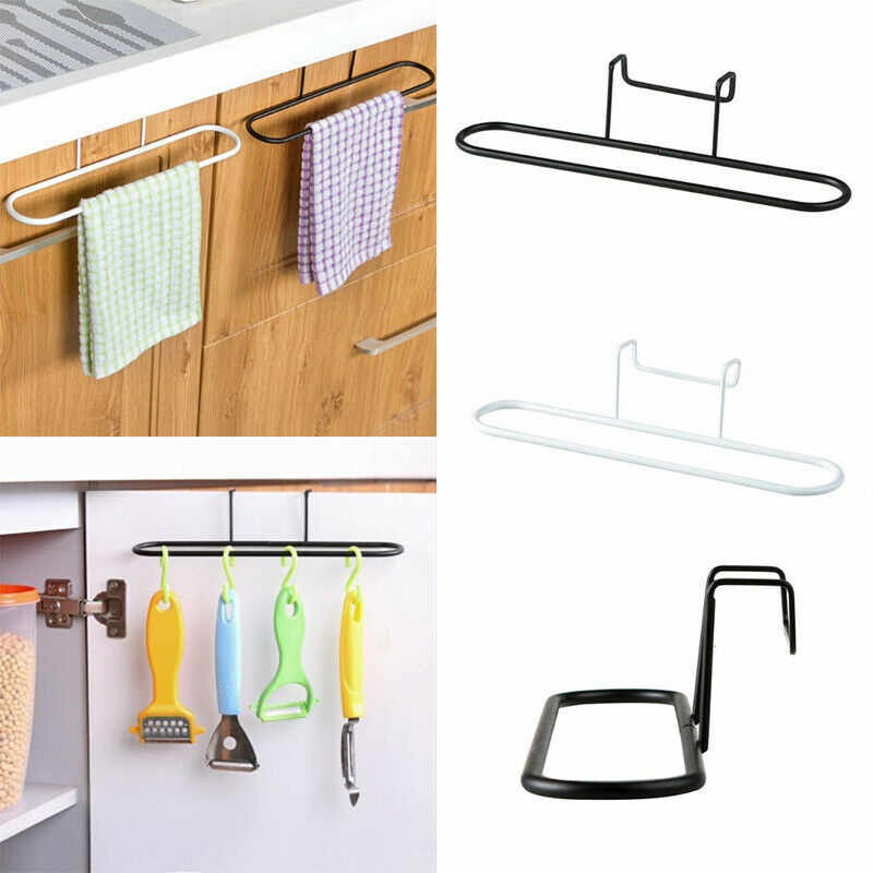 Towel Rack Hanging Holder Cupboard