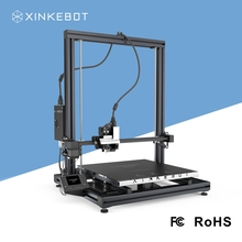 DIY FDM 3D Printer XINKEBOT Orca2 Cygnus 400*400*500mm with Quality Aluminum Heater for Delta