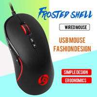 Photoelectric Mouse Game Office Currency 7 Key 3200dpi USB Interface Wired Mouse Computer Accessories 12.6*64*38cm