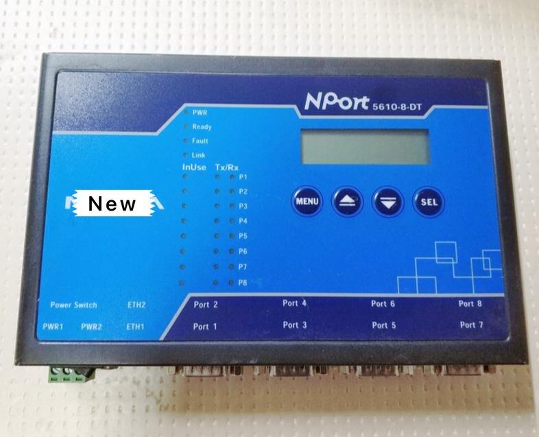 NPort 5610-8-DT NPort5610-8-DT 8 ports RS-232 serveur série DB9 tête de bureau