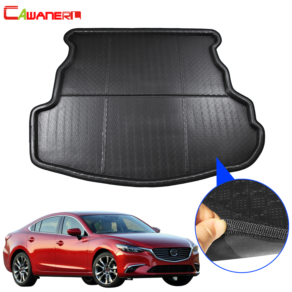 Rubber Boot tray liner car mat protector for VW POLO 6R 2009-2017