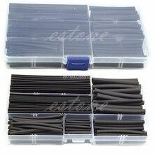 150 шт 2:1 безгалогенная термоусадочная пленка рукава трубки оплетка провода кабель