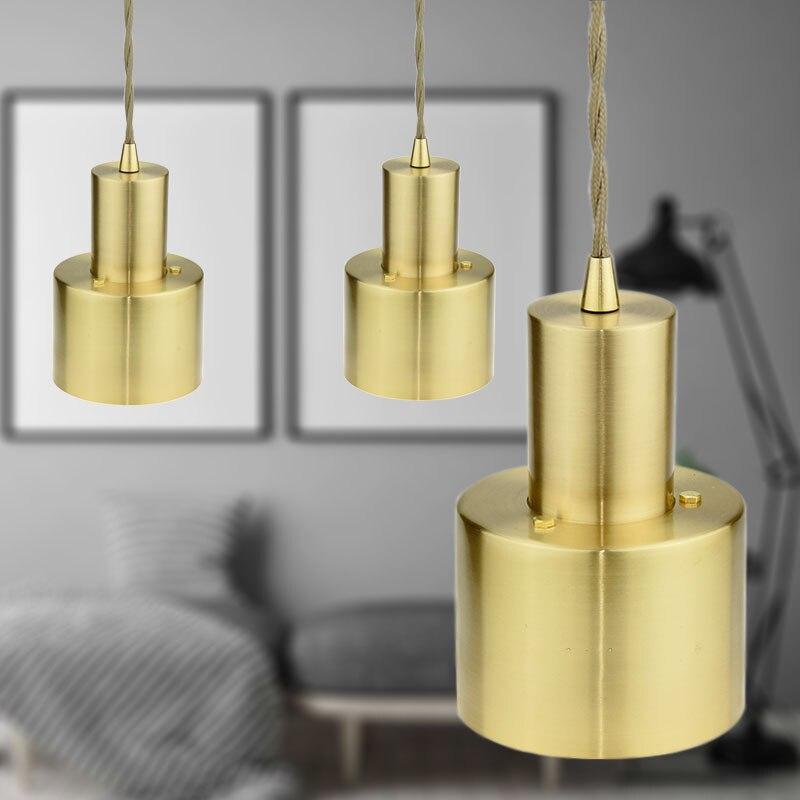 1 шт. светильник из латуни основание подвесной светильник Подвесная лампа Европейский ретро свет аксессуар для столовой Бар гостиная