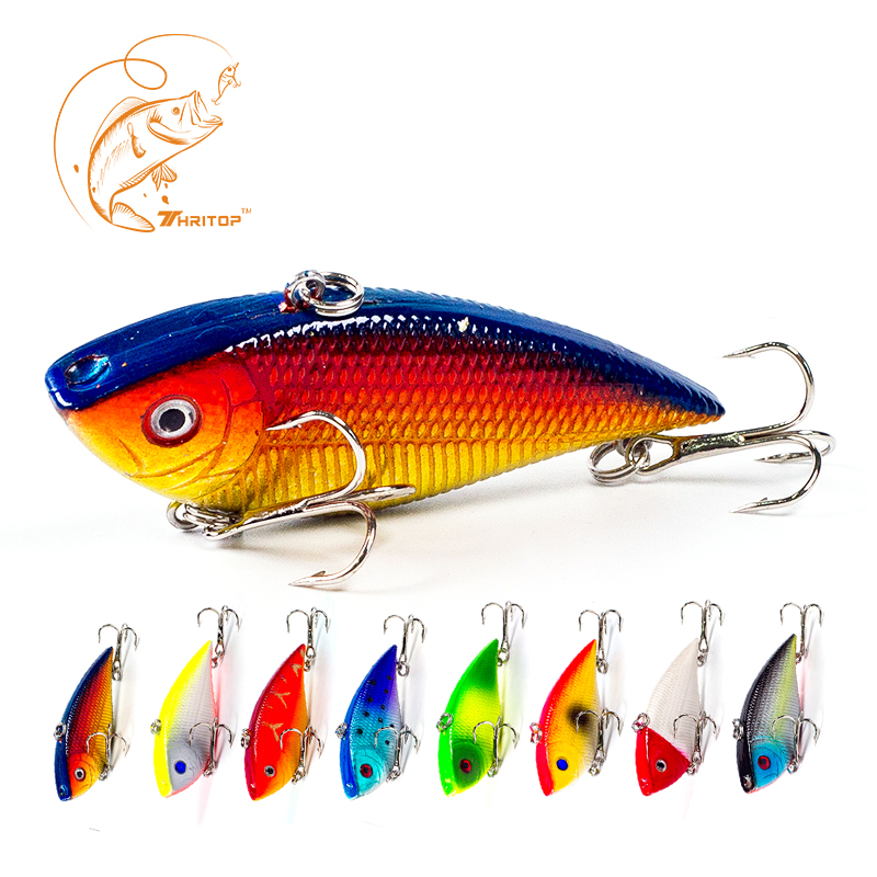 Thritop New Hard Rybářské návnady 7cm 11,5g Hot Item 8 Různé barvy pro variantu TP027 3D oči Rybářské návnady VIB návnada