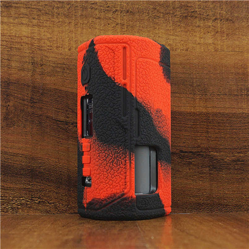 Texture Case for Lost Vape Drone BF Squonk DNA250C Box Mod Vape cover Rubber Silicone Skin Warp Sticker Sleeve