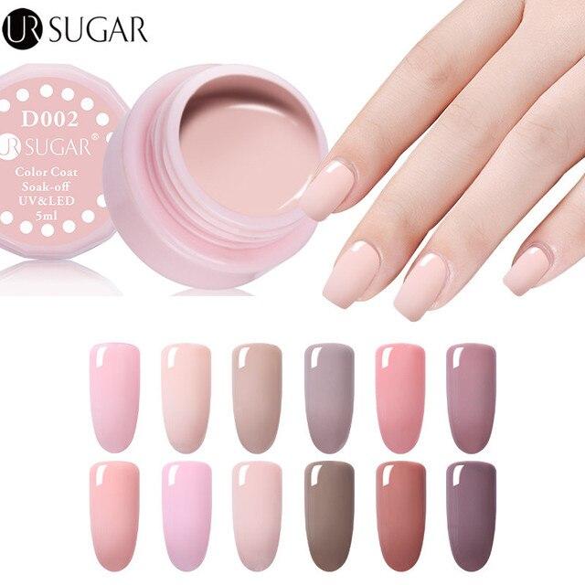 UR SUGAR Nude Color UV Gel Polish UV led Paint Gel Lacquer