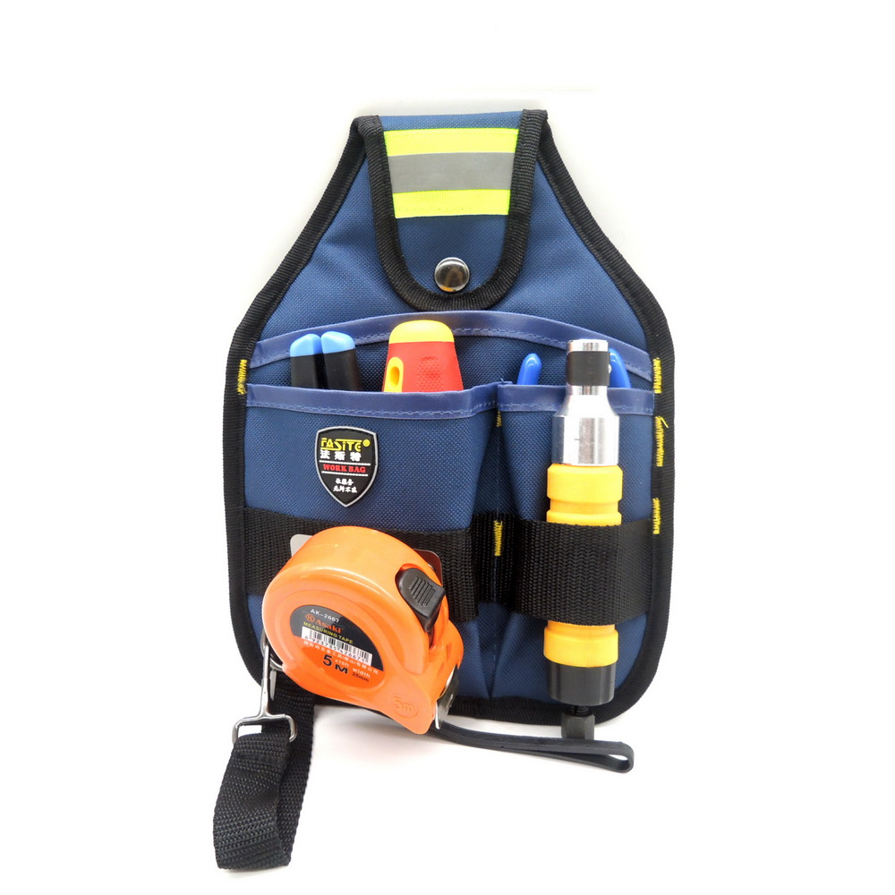 Waist Hanging Type Multifunction Utility Tools Bag 600D Electrician Package Oxford Canvas Waterproof Tool Belt