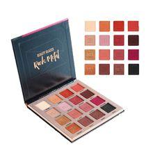 Beauty Glazed Shimmer Makeup Pallette Cosmetic Matte Eye Shadow Palette Soft Glitter Easy To Wear  Eyeshadow Maquiagem