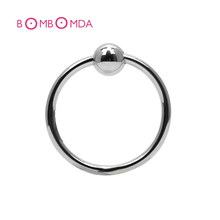 1pc Stainless Steel Penis Rings Bead Cock Ring Locking Penis Ring  Sex Toys Adult Sex Products For Men Couples Chastity Device