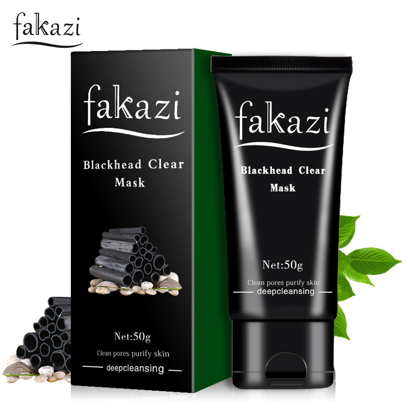 Blackhead Face Mask Bamboo Charcoal Essence Oil-control Shrink Pores Acne Treatment Pimple Black Head Acne Remover Blackheads