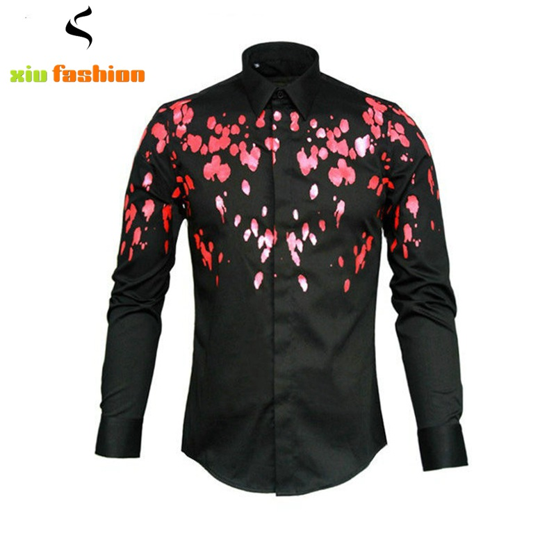 Compare Prices on Fancy Shirts Men- Online Shopping/Buy Low Price ...