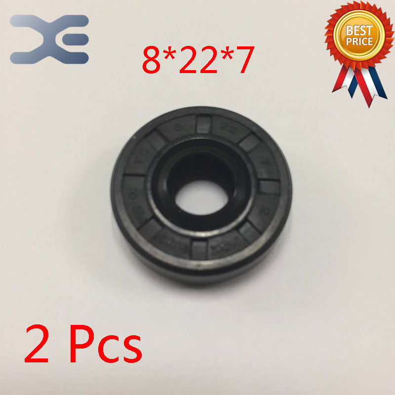 2Pcs <font><b>Breadmaker</b></font> Sorbet Machine Repair Parts For LG Oil Seal Ring TC Inner Diameter 8 Outer Diameter 22 Thickness 7 Wearable