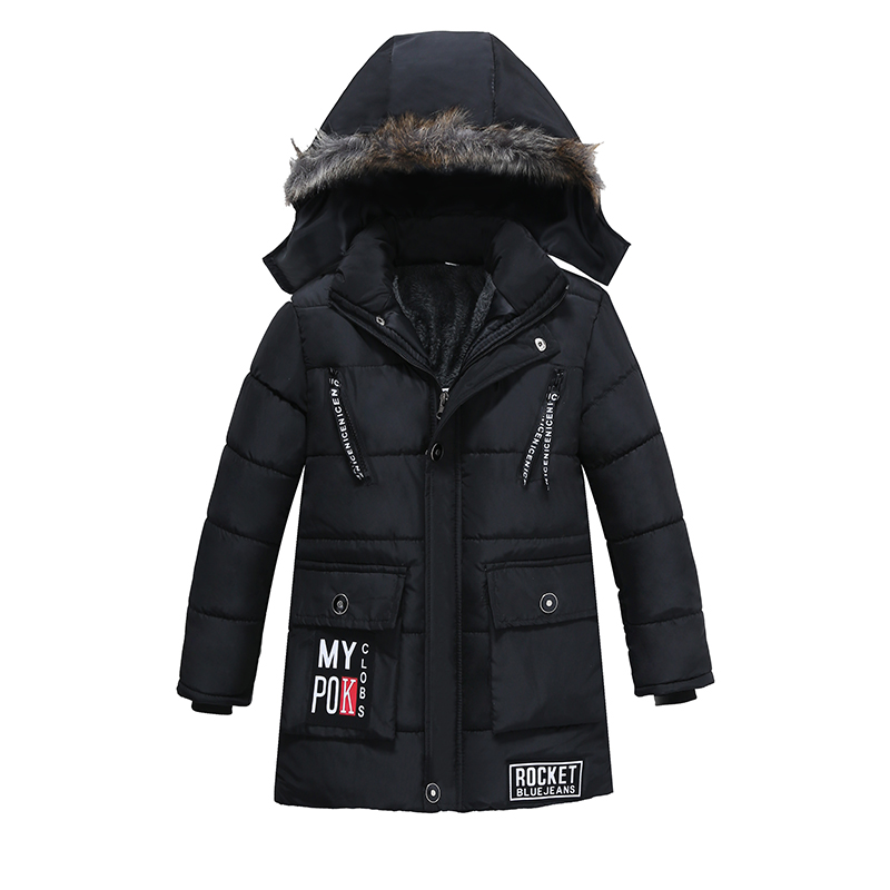 New Kids Toddler Boys Jacket Coat Hooded Jackets For Children Outerwear Clothing Winter Warm Baby Boy Clothes