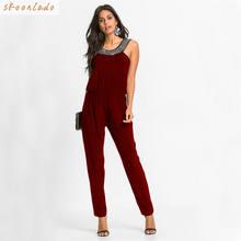 Женская одежда Комбинезоны Боди выглядит молодой стиль Тонкий