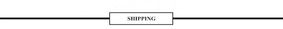 3 SHIPPING