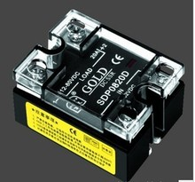 SDP0810D 10A SSR,Load voltage:12-80VDC,Control votlage:3.5--32VDC single phase ssr solid state relay Free Shipping10