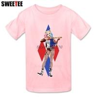 Suicide Squad Boy Girl T Shirt Baby Infant Cotton Round Neck Kid Tshirt Children S Tees