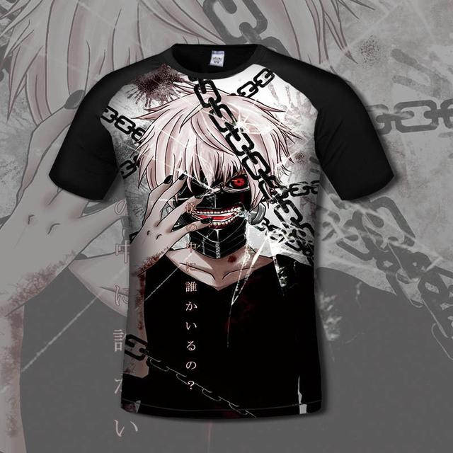 Tokyo Ghoul 3D Printed T-shirt