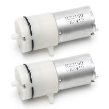 2x DC 3V-6V 5V 370 Motor Micro Mini Air Pump Vacuum For Aquarium Tank Oxygen t15
