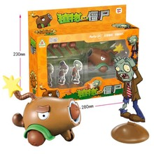 New Arrival Plants Vs Zombies Action Figure Toys PVZ Peashooter Model Toys PVC Dolls Gift For Kids Birthday new arrival pj masks vehicle characters slide cars catboy owlette gekko cloak action figure toys boy birhday gift for kids flyer