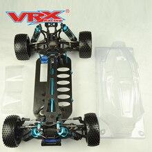 VRX Racing 1/10 scale SPIRIT PRO Багги роликовый комплект версия без электроники, с прозрачным корпусом