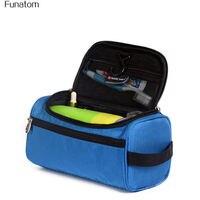 Fashion Portable Oxford Cloth Waterproof Travel Cosmetic Bag Pendant Organizer Cosmetics Bag Men Women Makeup Bath