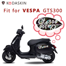 KODASKIN 2D Scooter Body Side Emblem Sticker Decal for VESPA GTS300