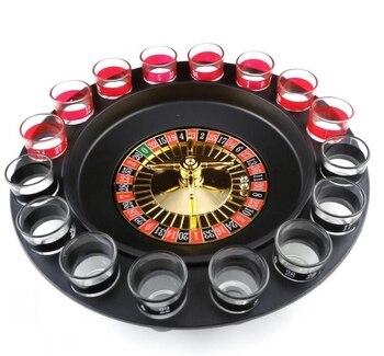 Regalo De La Novedad Del Partido Juegos Divertidos Para Beber Ruleta