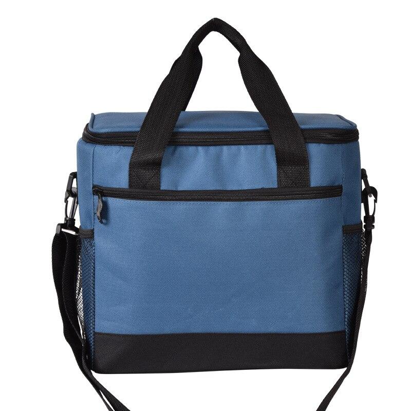 17l Kühltasche Klapp Isolierung Große Tragbare Eis Taschen Wasserdichte Mittagessen Freizeit Picknick Paket Bento Box Lebensmittel Thermische Tasche