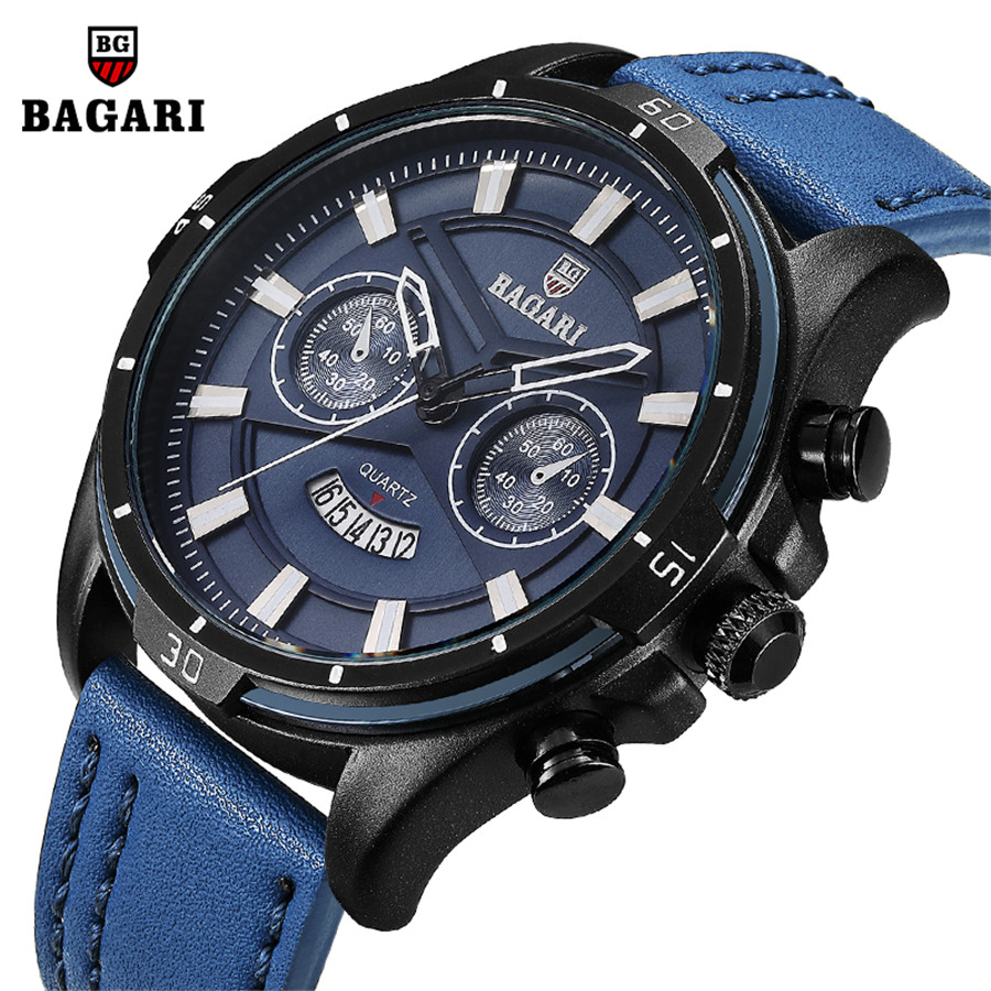 High Quality Watches Men Luxury Brand Large Dial Sports Watches Military Quartz Calendar Men's Watch Waterproof Relogio