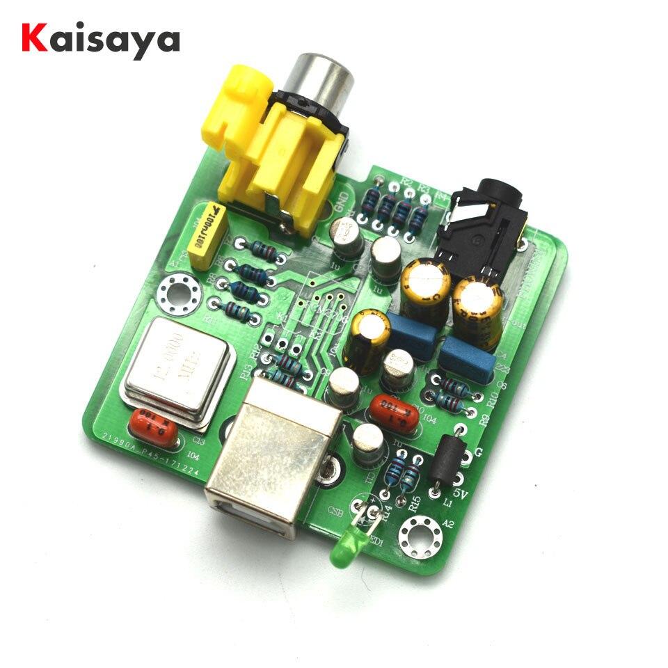 Neues Angebot Fertig 16x Parallel Tda1543hifi Audio Dac Decoder Pcm2706 Usb Dac Digital-analog-wandler Unterhaltungselektronik