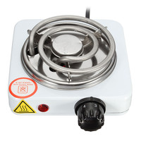 Burner Electric Stove Hot Plate Kitchen Portable Coffee Heater Design L Hotplate Cooking Appliances 220V 500W