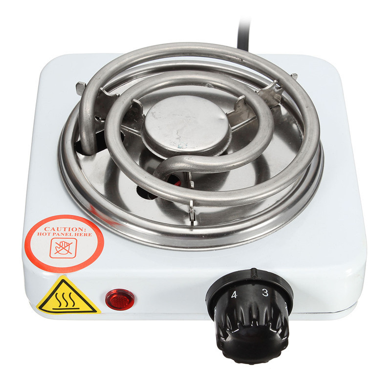 Burner Electric stove Hot Plate kitchen portable coffee heater Design l Hotplate Cooking Appliances 220V 500W dia 400mm 900w 120v 3m ntc 100k round tank silicone heater huge 3d printer build plate heated bed electric heating plate element