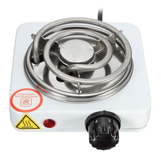 Burner Kompor Listrik Hot Plate Desain L Memasak Peralatan Dapur Portabel Kopi Pemanas 220 V