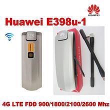 Партия 100 шт huawei разблокированный e398 телефон мбит/с 4g
