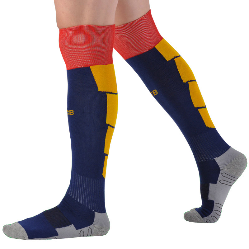 Soccer Socks Professional Club Team Football Socks Thick Knee High Training Long Stocking Skiing Warm Sports Socks Kids to Adult hockey sock