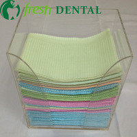 Dental Dental Scarf Scarves Disposable Dental Tray Cassette Tray Strapless Bibs Tissue Dental Materials