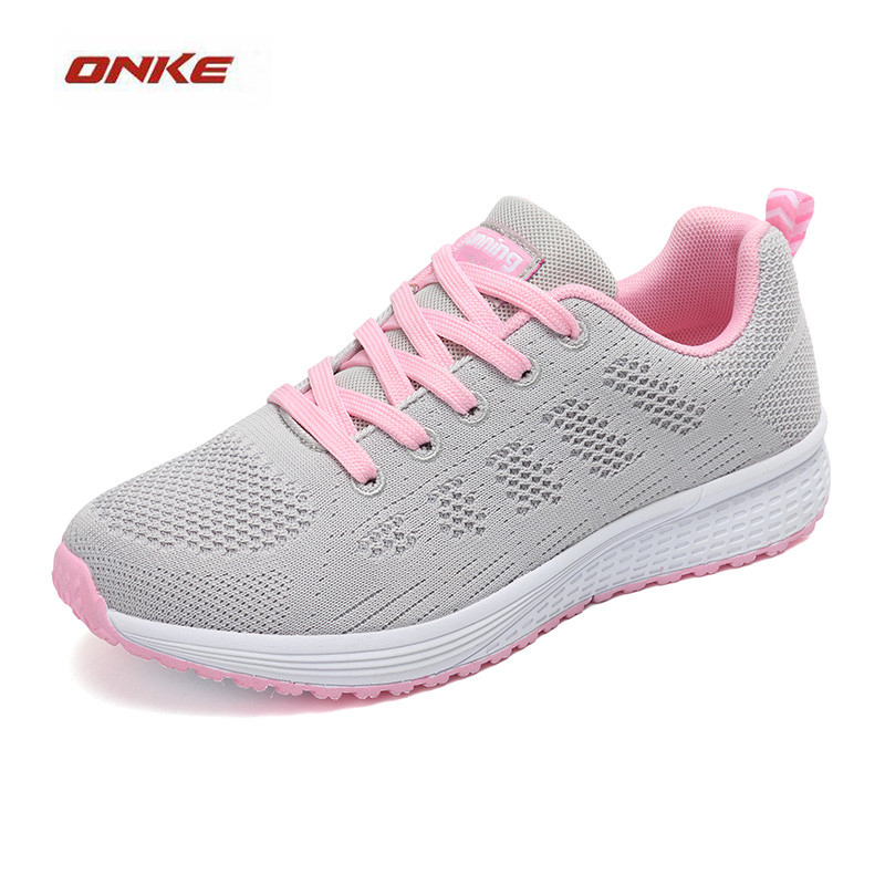 ONKE Woman Sports Running Shoes Breathable Summer Sneakers Soft Lightweight Track And Field Entertainment Sneaker Discount