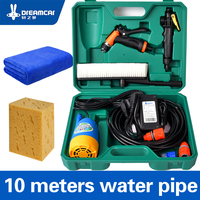 High Pressure 12v Washing Machine Car Portable Car Wash Device 220v Household Washing Pump Car Tools