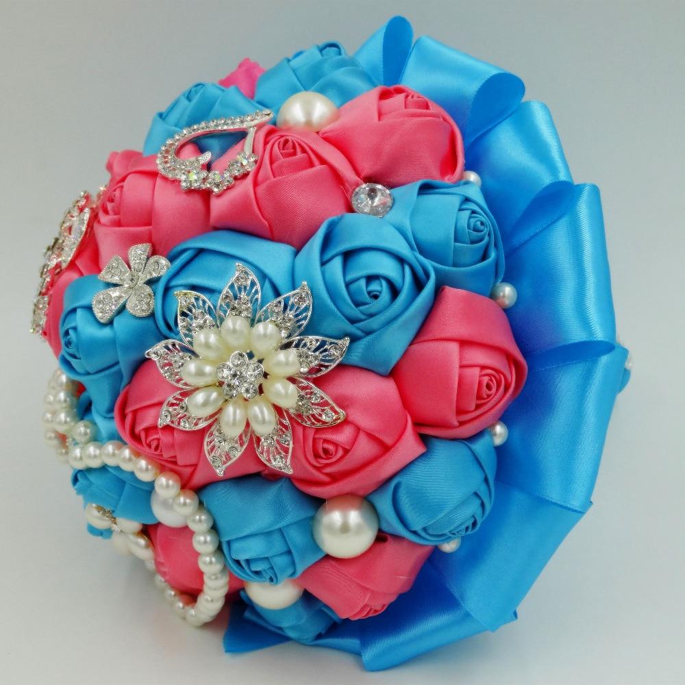 Online kopen wholesale turquoise kunstbloemen uit china turquoise ...
