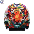 Mr.1991 brand 12-18 years big kids sweatshirt boys youth fashion 3D Multicolor tiger printed hoodies jogger sportwear W21