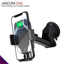 JAKCOM CH2 Inteligente Titular Carregador de Carro venda Quente em Carregadores Sem Fio como partidora de de bateria bt c3100 opus