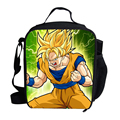 2015 Hot Character Lunch Bag For Kids Dragon Ball Lunchbox Bag For Boys Personalized Insulated Lunch Bag For Children Students