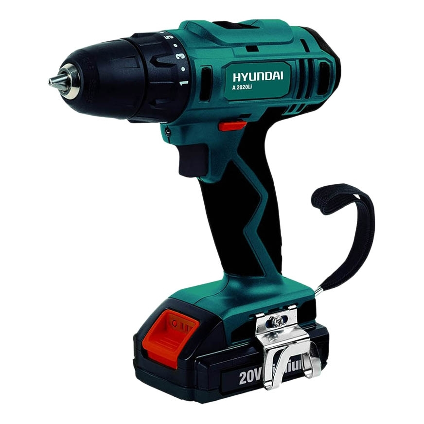 Cordless drill battery Hyundai A 2020Li lithium battery socket wrench hand drill chuck bit hammer installation power tools cordless electric wrench impact